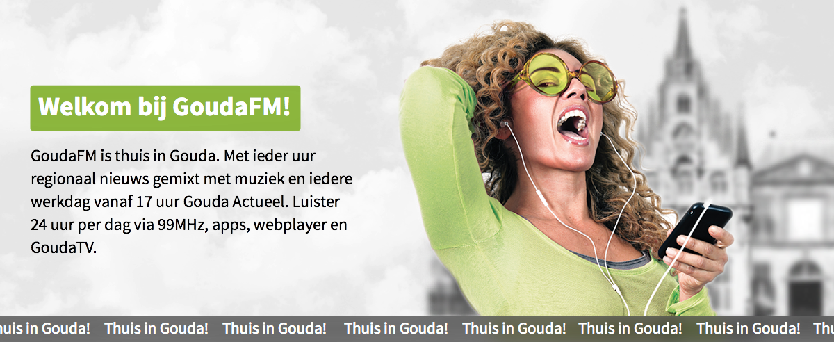 Welkom bij GoudaFM!