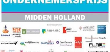 Gouda goed vertegenwoordigd onder genomineerden Ondernemersprijs