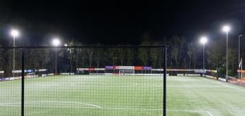 Jodan Boys tegen AGE in Rijnmond Cup
