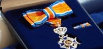 Koninklijke onderscheiding voor Bert de Pater