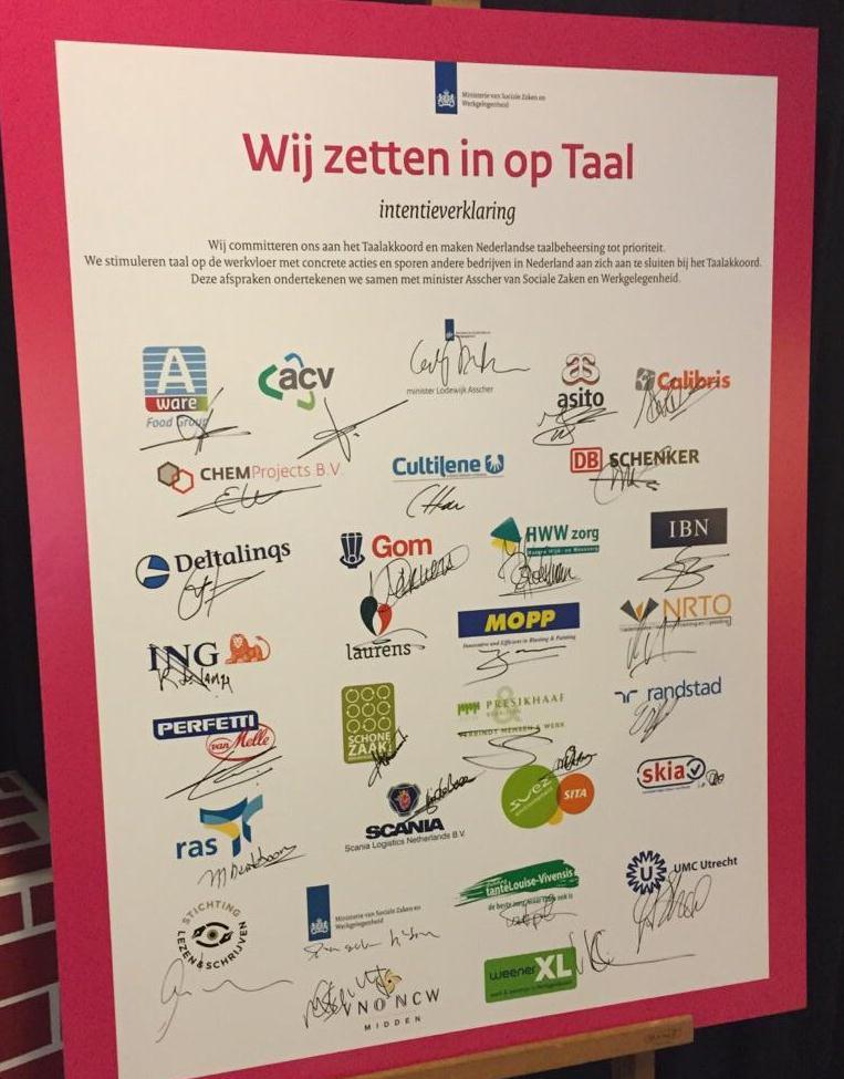 Aanmelden: Ondernemersbijeenkomst Taalakkoord