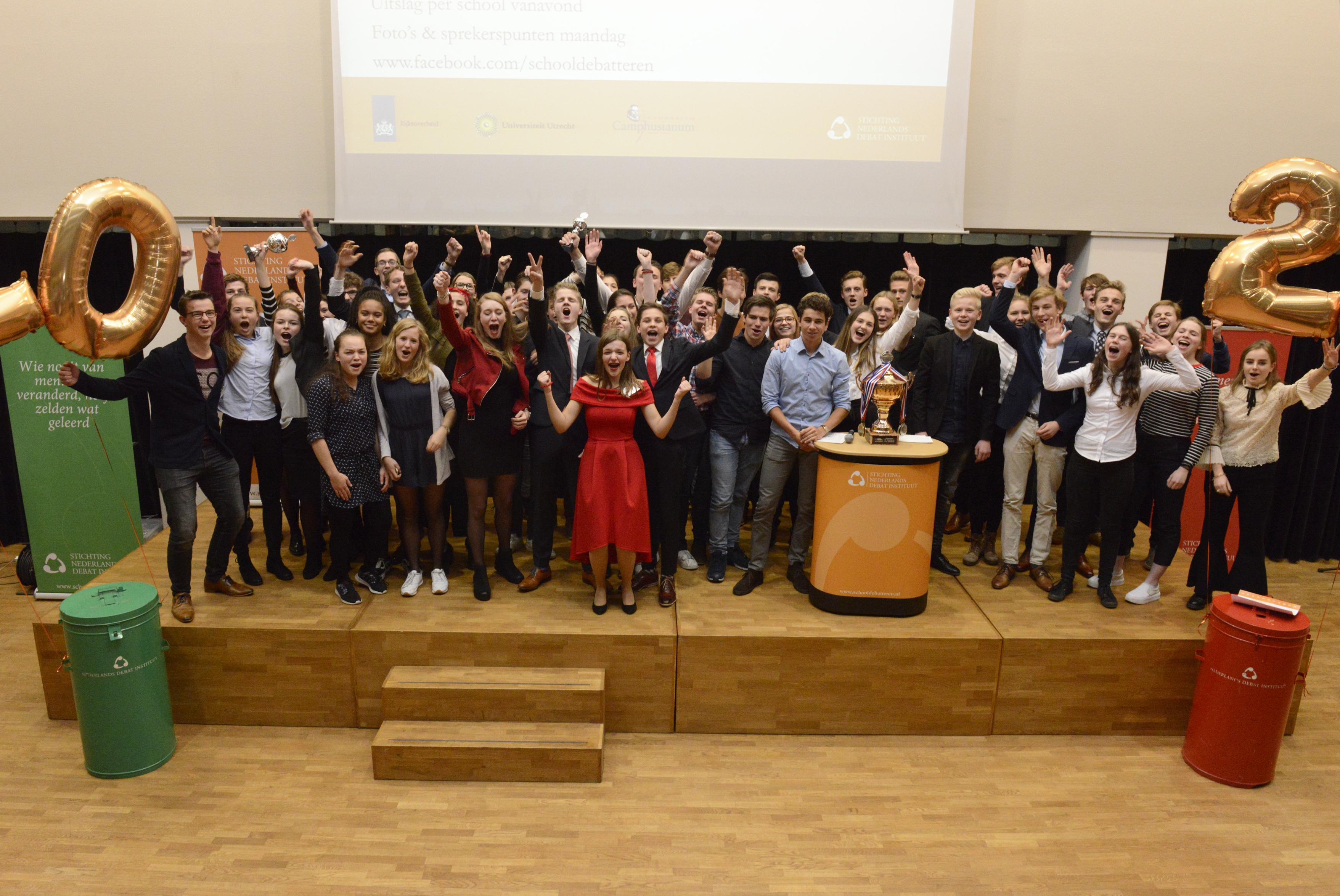 Scholieren Driestar College en Coornhert Gymnasium naar finale NK Debatteren