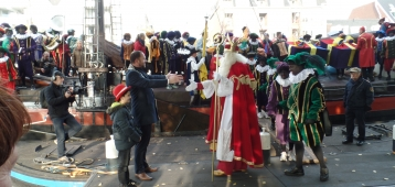Intocht Sinterklaas in Gouda