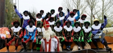 Intocht Sinterklaas in Haastrecht