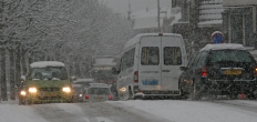Scholen dicht vanwege sneeuwbuien