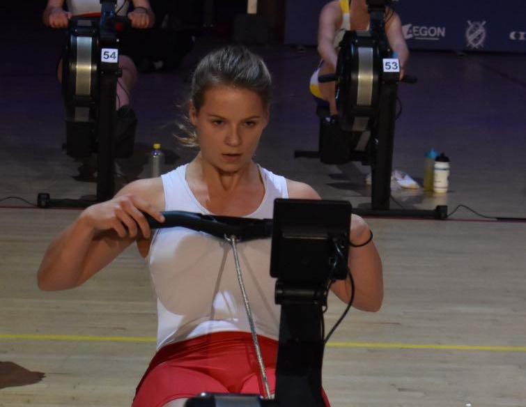 Lisa Bruinincx Nederlands Kampioen ergometerroeien