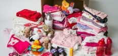 Inzamelactie babykleding door Stichting Slimme Boefjes