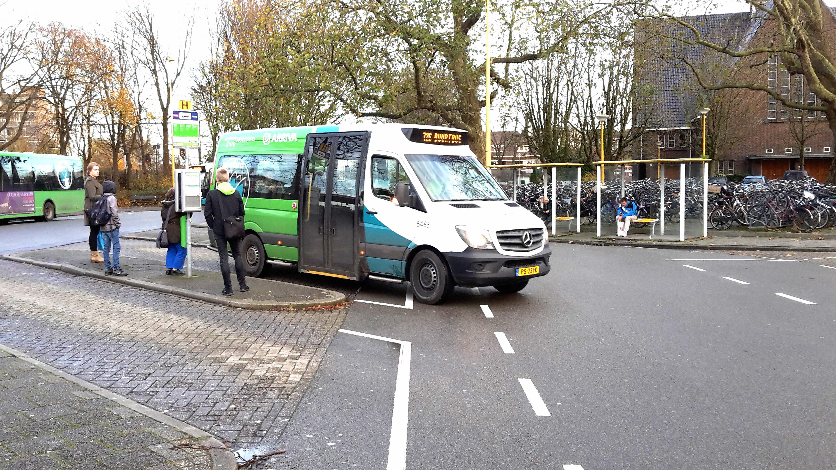 Buurtbus lijn 726 Reeuwijk – Gouda rijdt met nieuwe bus
