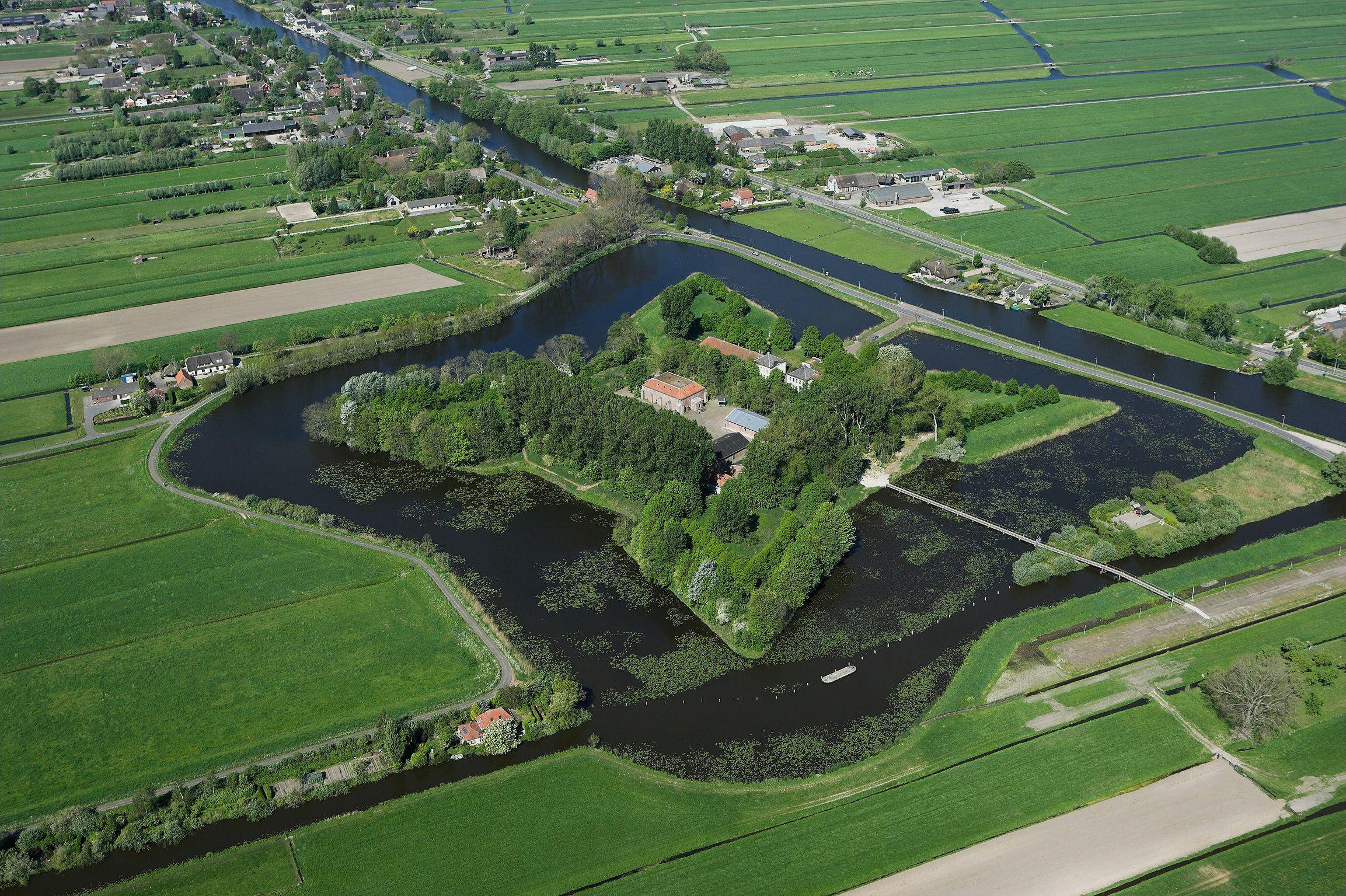 Zuid-Holland geeft half miljoen voor waterlinieprojecten