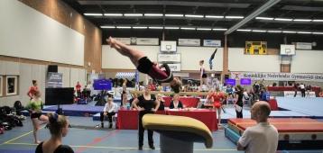 Kwartfinale turnen in Waddinxveen geslaagd evenement