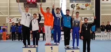 Goudse turners winnen goud op voorwedstrijd richting NK