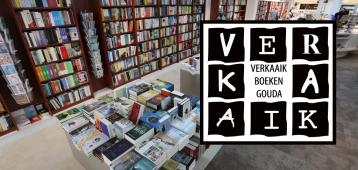 Za. 12-5: Anthonie Holslag bij Boekhandel Verkaaik