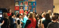 Leerlingen Goudse Waarden en Meander maken samen kunstwerk