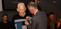 Sam Bouter, 75 jaar lid van Jodan Boys