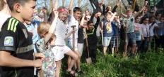 Officiële start aanleg avontuurlijk speelterrein Gouda Oost