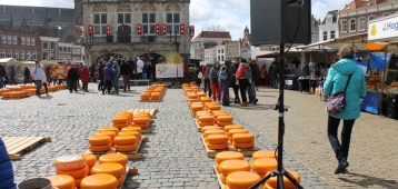 Do. 12-7: Gouda Kaasmarkt