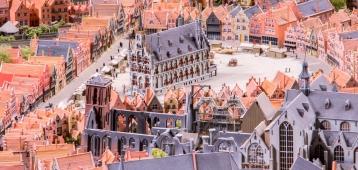 Zo. 3-6: Rondje stadsmaquette in Museum Gouda