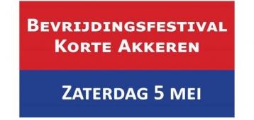 Za. 5-5: Bevrijdingsfestival Korte Akkeren
