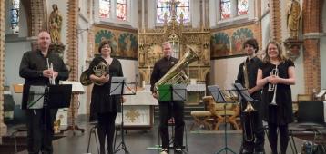Vr. 29-6: Concert UMA Kamerorkest en Koperkwintet CU4 in de Sint Jan
