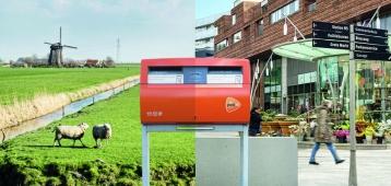 PostNL past netwerk brievenbussen in gemeente Gouda aan