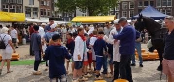 Vijfde Kinderkaasmarkt op donderdag 14 juni in Gouda