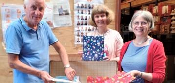 Driestar hogeschool doneert prentenboeken aan Voedselbank