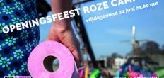 Roze Camping Openingsfeest, een feestje voor iedereen