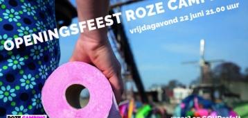 Vr. 22-6: Roze Camping Openingsfeest, een feestje voor iedereen
