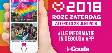Roze Zaterdag in deGouda App