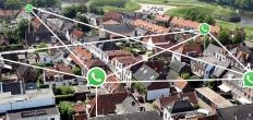 Meer huishoudens voor inbraakpreventie aangesloten bij whatsappgroep