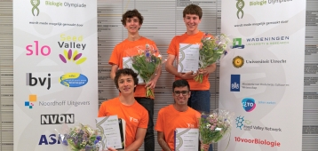 Goudse Ward de Ridder winnaar Nederlandse Biologie Olympiade
