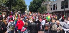 Gezellig druk! De Pridewalk in Gouda