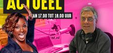 Edsilia Rombley bij GoudaFM