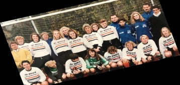 Reünie 30 jaar vrouwenvoetbal bij Jodan Boys
