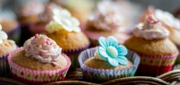 Ma. 23-7: Cupcakeje versieren op de kinderboerderij