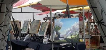 Kleurrijke zomerexpositie: Bloemenpracht
