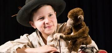 Zo. 30-9: Musical Alleen op de wereld in theater Swanla