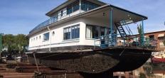 Het Nieuwe Bouwen op de helling bij Museumwerf Vreeswijk