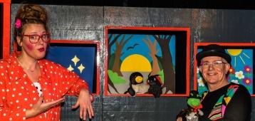 Za. 27-10: Poppenkastvoorstelling Gerben het Monster! in kleintheater Zwaan