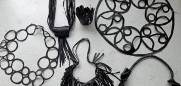 Di. 25-9: Workshop sieraden van rubber in de Kapberg