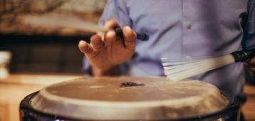 Di. 25-9: Percussie workshop Salsa bij Vonk