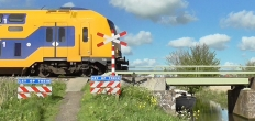 Bodegraven en ProRail in gesprek over onbewaakte spoorwegovergang