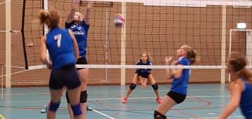 Timios dames 1 verliest in Schoonhoven