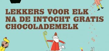 Za. 17-11: Bij HEMA gratis chocolademelk na Sinterklaas intocht