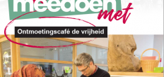 Effe mee doen met… Ontmoetingscafé de vrijheid