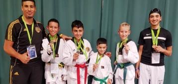 Vijfmaal eremetaal voor Taekwondoka's Akabbouz