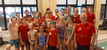 Zwemploeg Widex GZC DONK bij Klassementswedstrijd